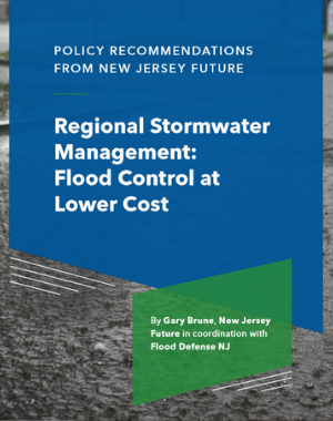 Regional Stormwater Management: Flood Control at Lower Cost