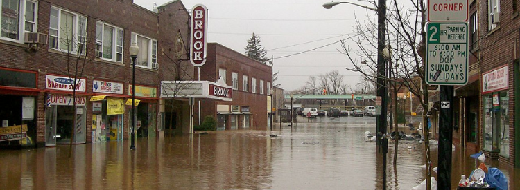 Flood events in New Jersey