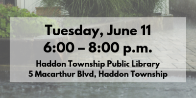 Tuesday, June 11, 6–8pm
